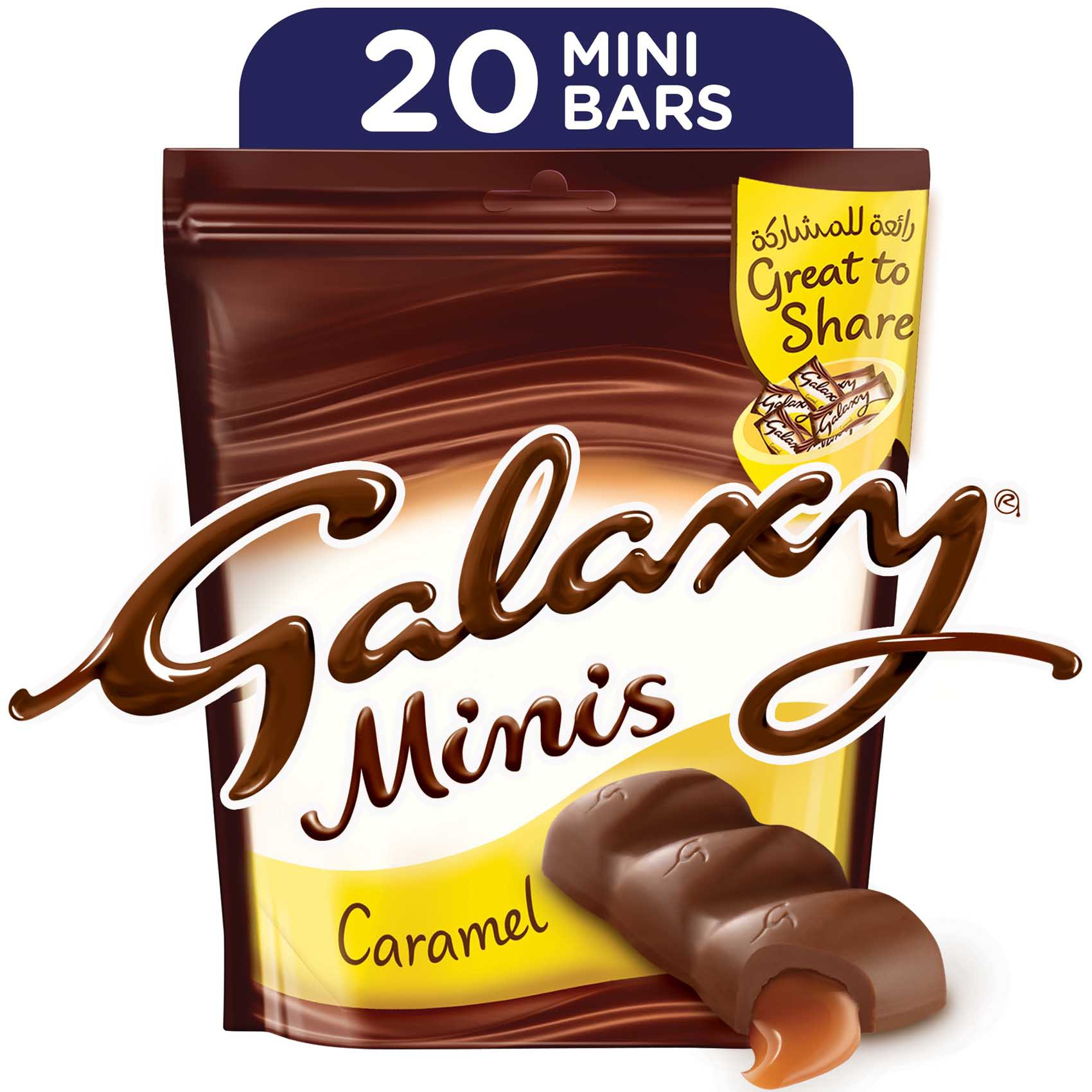 GALAXY CARAMEL MINI 280G