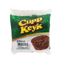 Cupp Keyk Choco Mocha Cupcake with Choco Sprinkles 34g x 10