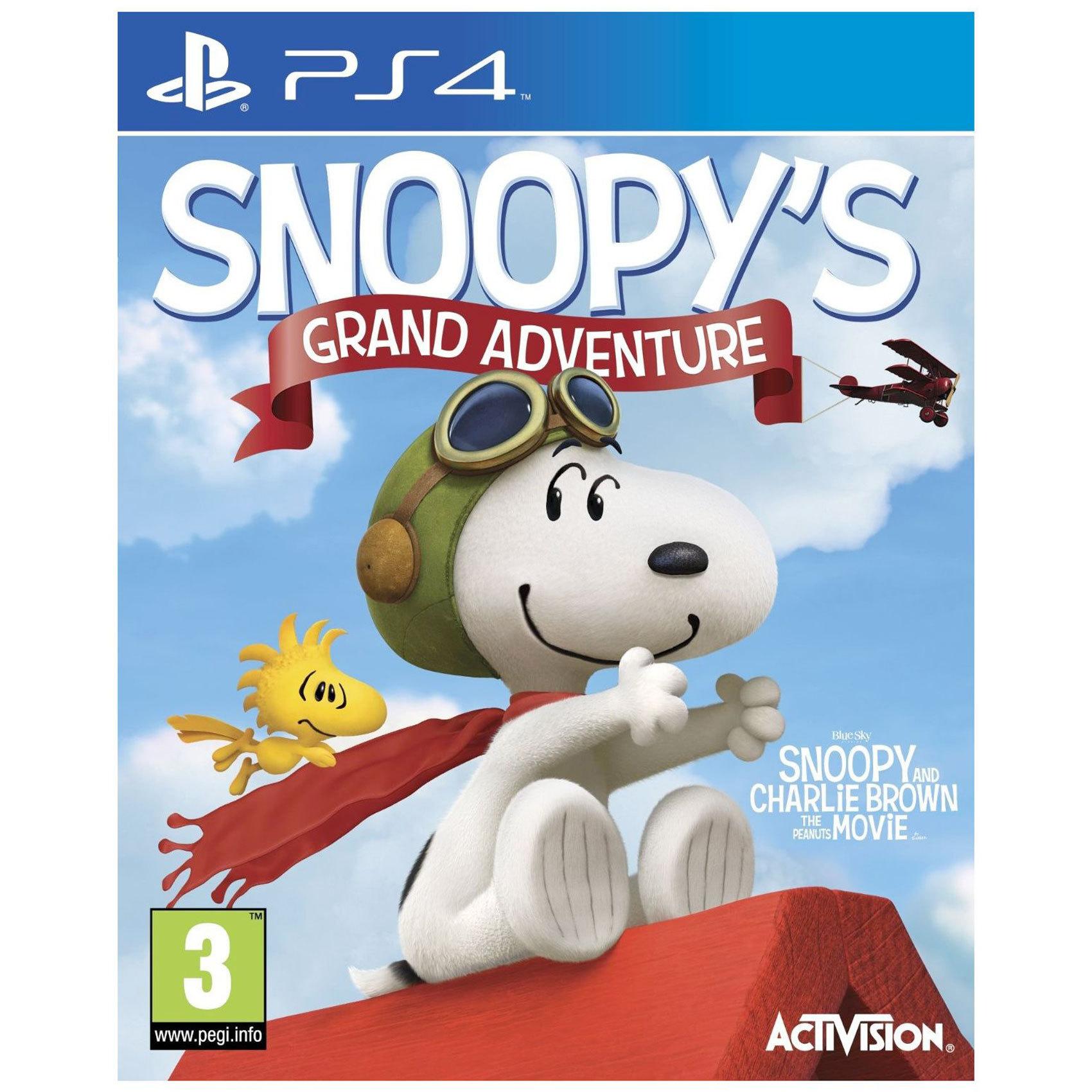 SONY PS4 THE PEANUTS MOVIE: SNOOPY