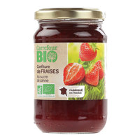 Carrefour Bio Organic Strawberry Jam 360g