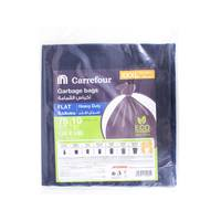 Carrefour Flat Garbage Bags XXX-Large 10 Bags 75 Galons