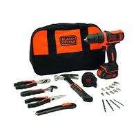 Black & Decker Drill Driver + Bag + Accessories