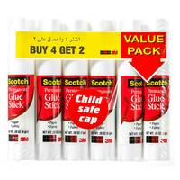 3M - 6 Pack of 4+2 Free