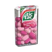 Tic Tac Strawberry Mix 16GR