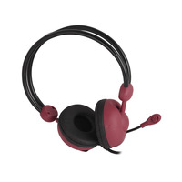 CROWNMICRO Headset Wired CMH-942 Red