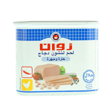 Zwan-Chicken-Luncheon-Meat-Hot-&-Spicy-340g