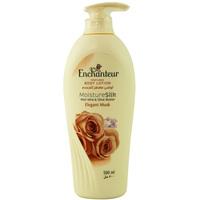 Enchanteur Perfumed Body Lotion Moisture Silk Elegant Musk 500ml