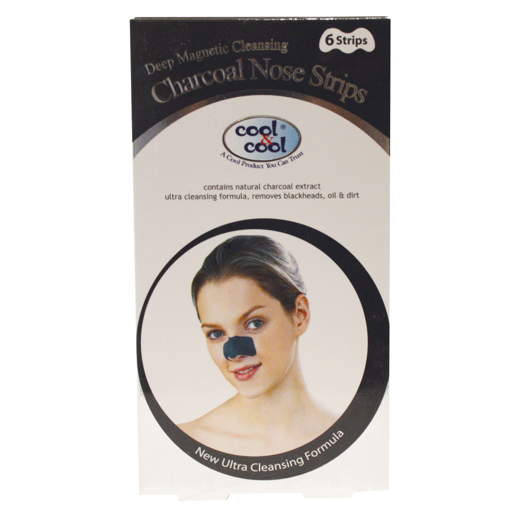 C&C CHARCOAL NOSE STRIPS X6
