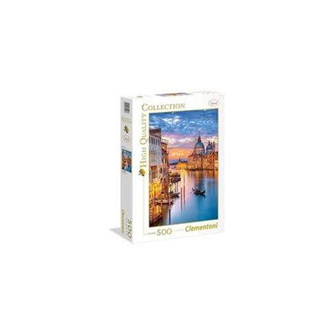 Clementoni-Puzzle-Lighting-Venice-High-Qyality-500-Pieces