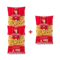 PastaZARA  Pasta Conchiglie 500GR X2 +1 Free