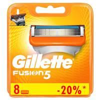 Gillette Fusion men's razor blade refills, 8 count