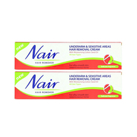 Nair Tubes Under Arm & Sensitive Areas Twin Pack 110GR -25% Off