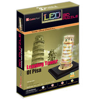CubicFun LED 3D Puzzle Leaning Tower of Pisa