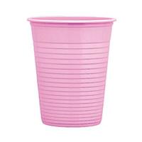 Bibo Plastic Cup Pink 50 Packs