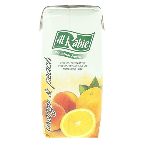 Al-Rabie-Orange-And-Peach-Premium-Drink-330ml
