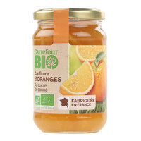 Carrefour Bio Organic Orange Jam 360g