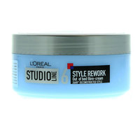 L'Oreal Studio Line 6 Style Rework Out Of Bed Fibre-Cream 150ml