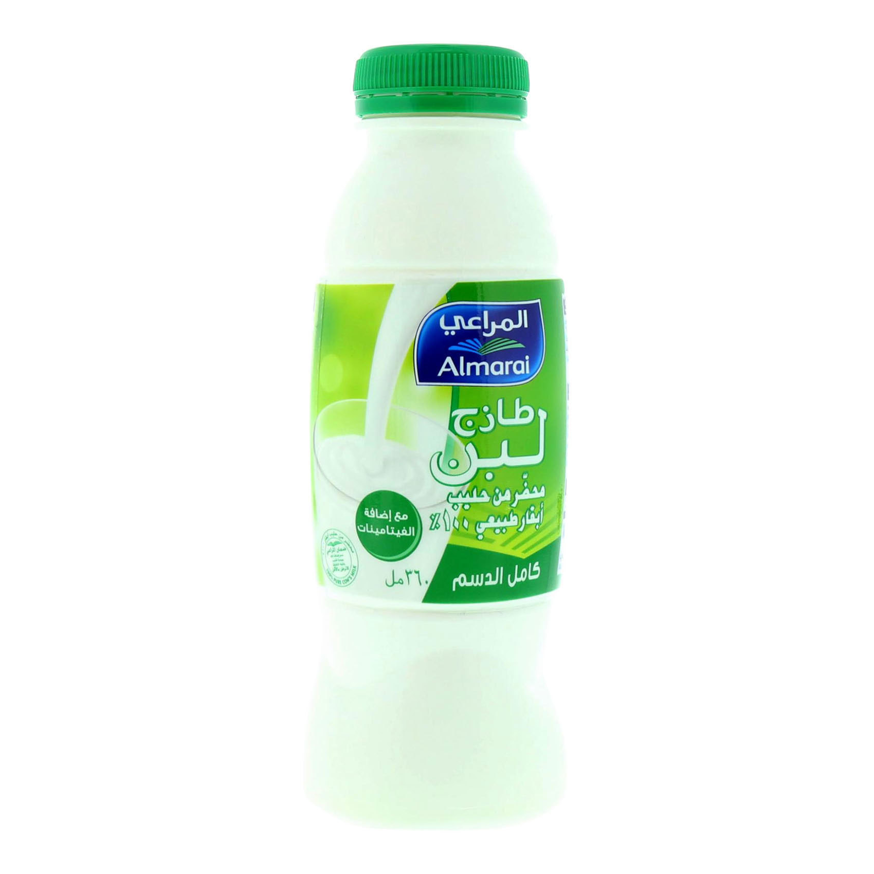 ALMARAI LABAN FF W VITAMINS 360ML