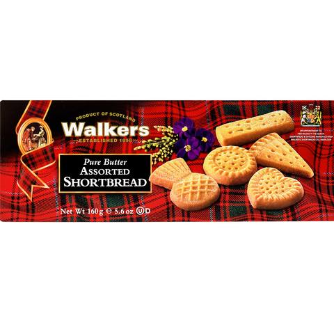 Walkers-Pure-Butter-Assorted-Shortbread-160g