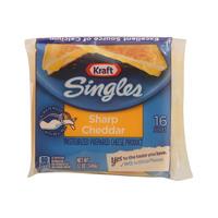 Kraft Singles Sharp Cheddar 16 Slices 340g