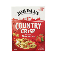Jordans Country Crisp Chunky Strawberries 500g