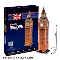 Cubic Fun Big Ben Uk 3D Puzzle