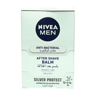 Nivea Men Anti-Bacterial After Shave Balm Silver Protect 100 ml