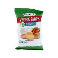 سيمبلي 7 رقائق الخضروات العضوية الأصلية 113 غرام