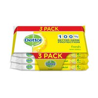Dettol Fresh Skin Wipes 40S (2+1)