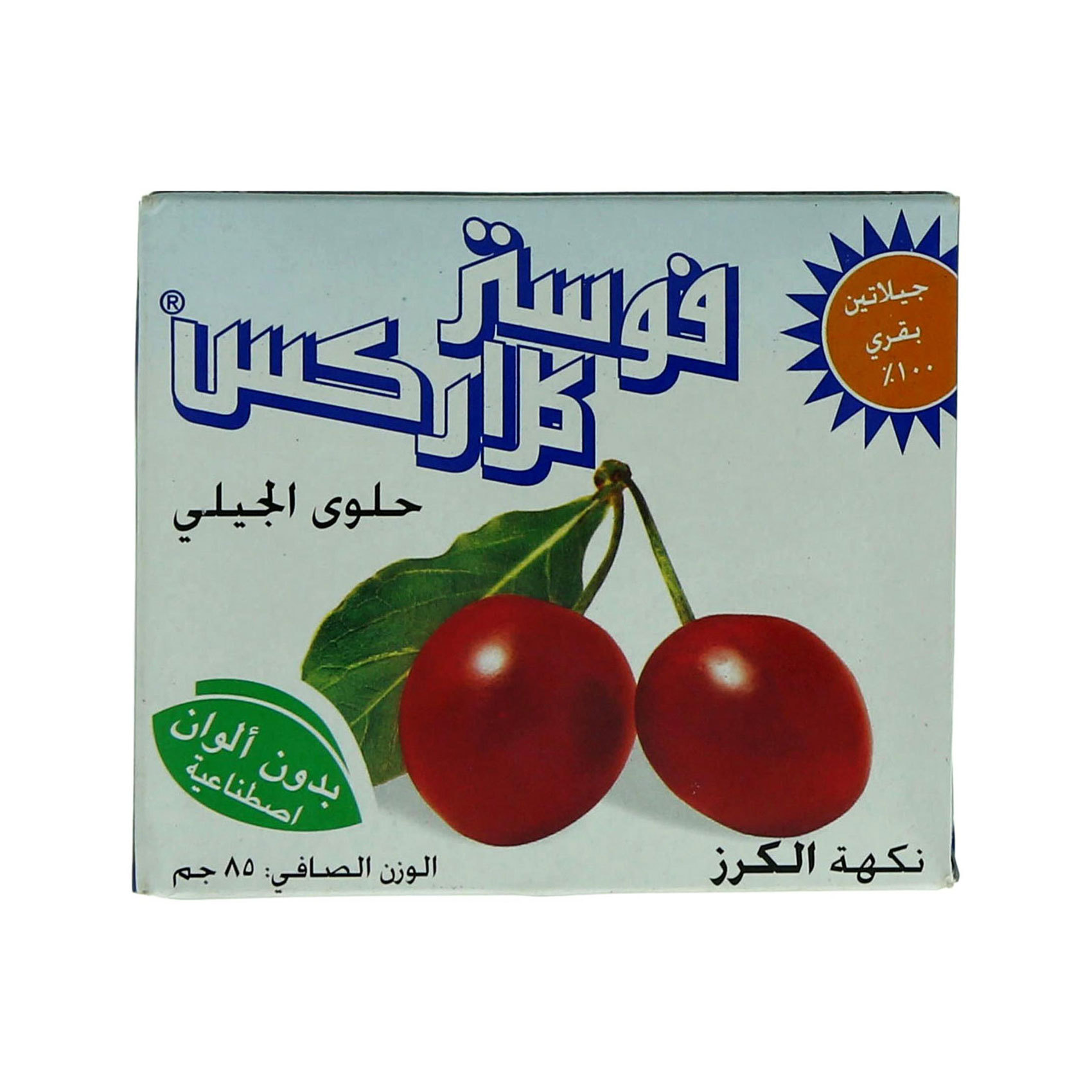 FOSTER CLARK JELLY CHERRY 85GR