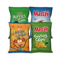 Master Chips Assorted 110GR X 4