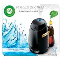 Air Wick Air Freshener Essential Oil Diffuser Kit, Fresh Water Breeze 20ml