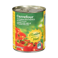 Carrefour Peeled Whole Tomatoes 400GR