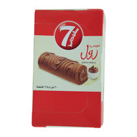 Almarai 7 Days Swiss Roll With Cocoa Filling 20gx12