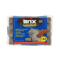 Arix Steel Wool ROOLS 50GR X 12 Pieces