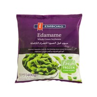 Emborg Edamame Whole Green Soybeans 400g