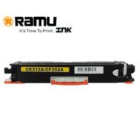 رامو خرطوشة حبر ليزرية متوافقة مع إتش بي CE312/CF352A لون أصفر