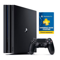Sony PS4 1TB Pro Console+12 Months Subscription