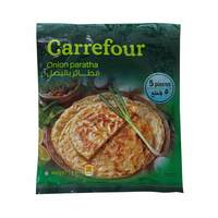 Carrefour onion paratha 5 pieces 400 g