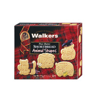 Walkers Animal Shapes Shortbread 175 g