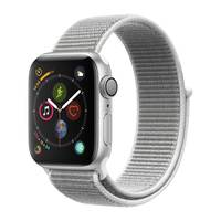 Apple Watch Series-4 GPS 44mm Silver Aluminium Case with Seashell Sport Loop (MU6C2AE/A)