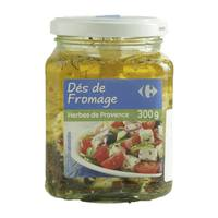 Carrefour Provence Herbs Diced Cheese 300g