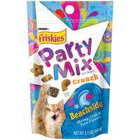 Purina Friskies Party Mix Cat Treats Beachside Crunch 60 g
