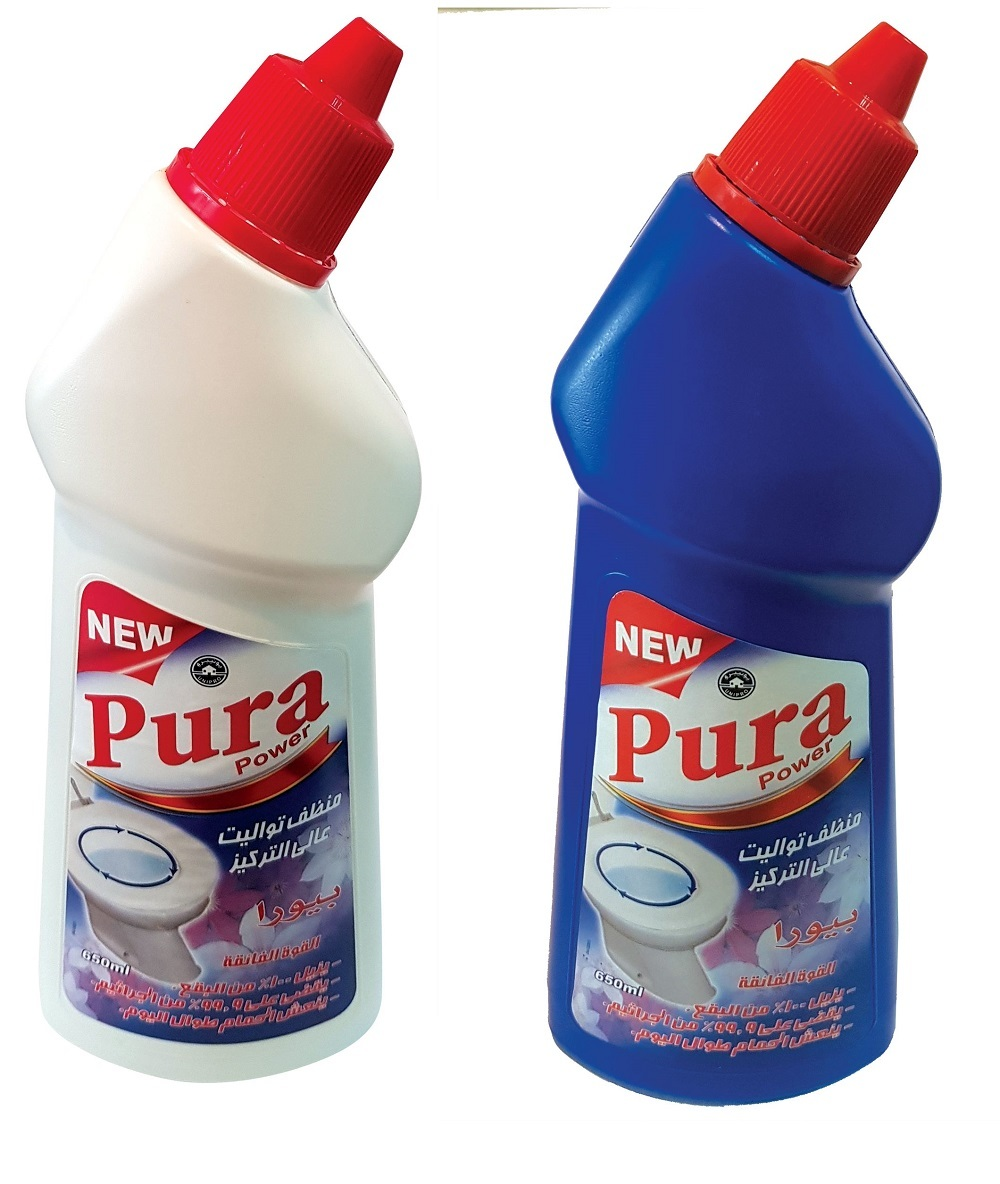 PURA TOILET CLEANER 650ML X 2 PCS