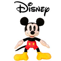 "Disney Plush Retro Mickey Red Short 7"""