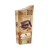 Tuiles Bio Chocolat Lait Caramel 130GR