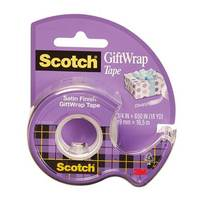 Scotch Giftwrap Tape 3/4 In X 650In