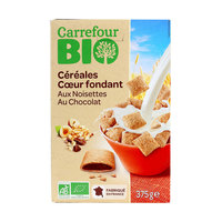 Carrefour Bio Organic Chocolate Hazelnut Cereals 375g