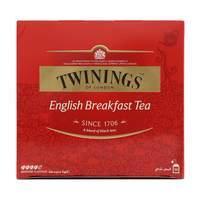 Twinings Of London English Breakfast Tea Medium Flavour 50 Tea Bags