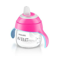 Philips Avent Sip No Drip Cup Pink 6 Monts+ 200ML